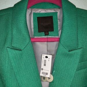 The Limited Jackets & Coats - [The Limited] Bright Green Blazer